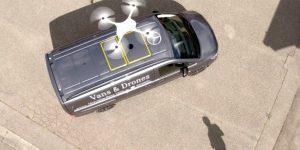 Kombi, ki bo izstrelil drone za dostavo