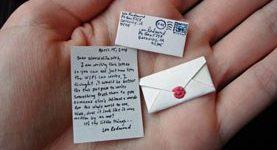 Poslovna priložnost: miniaturna pisma