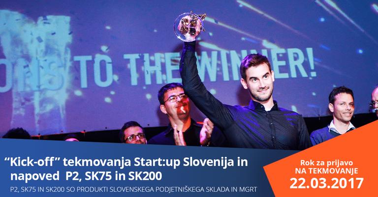 Začenja se nov krog financiranja zagonskih podjetij in tekmovanja Start:up Slovenija