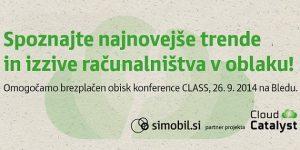 Konferenca o storitvah v oblaku CLASS Conference