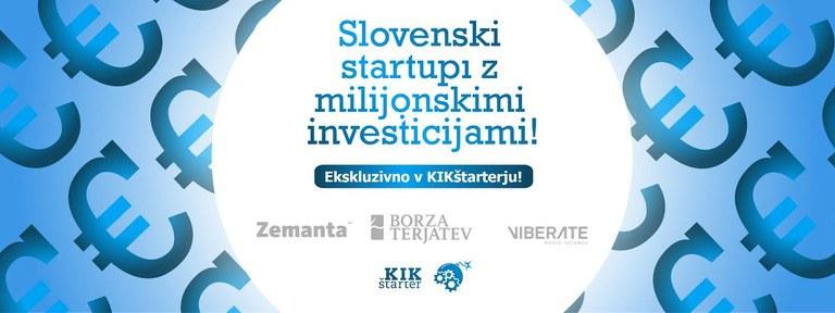 KIK OFF - startupi z največjimi investicijami