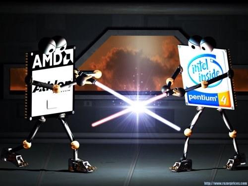 Intel se je odločil za poravnavo s tekmecem AMD