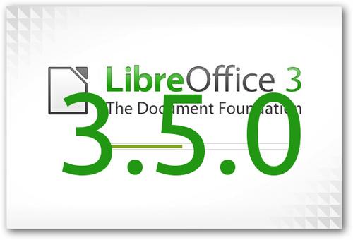 Izšel je nov pisarniški paket LibreOffice 3.5