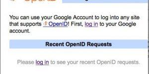 Vaš Gmailov uporabniški račun je sedaj OpenID