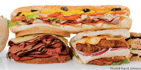 Subway - leto sendviča
