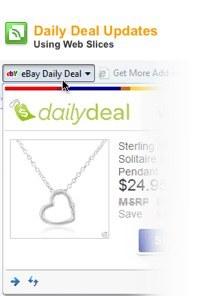 Ebay bo preko IE8 ponujal najboljše dnevne kupčije