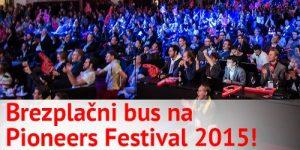 Brezplačen prevoz in ugodne vstopnice za Pioneers Festival 2015!