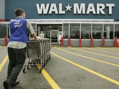 Walmart na dan zahvalnosti z največ prometa