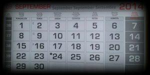 Koledar poslovnih obveznosti – september 2015