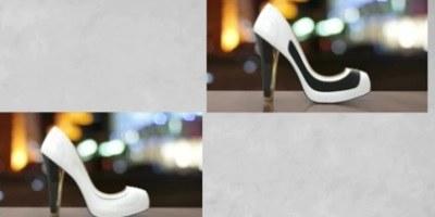 Čevlji, ki s pomočjo e-črnila spreminjajo barvo in vzorec