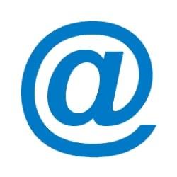 Kaj pomeni @ v naslovu spletne strani?