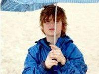 Poslovna priložnost: plašč in dežnik v enem