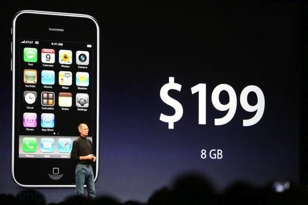 iPhone 2 uradno zunaj!