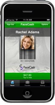 Poslovna priložnost: FaceCash