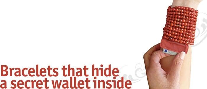 Poslovna priložnost: Zapestnica in denarnica v enem