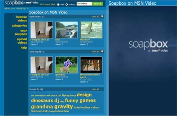 Microsoftov Soapbox, tekmec Googlovega YouTube, v ukinjanju