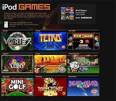 Brezplačne igre za vaš iPod