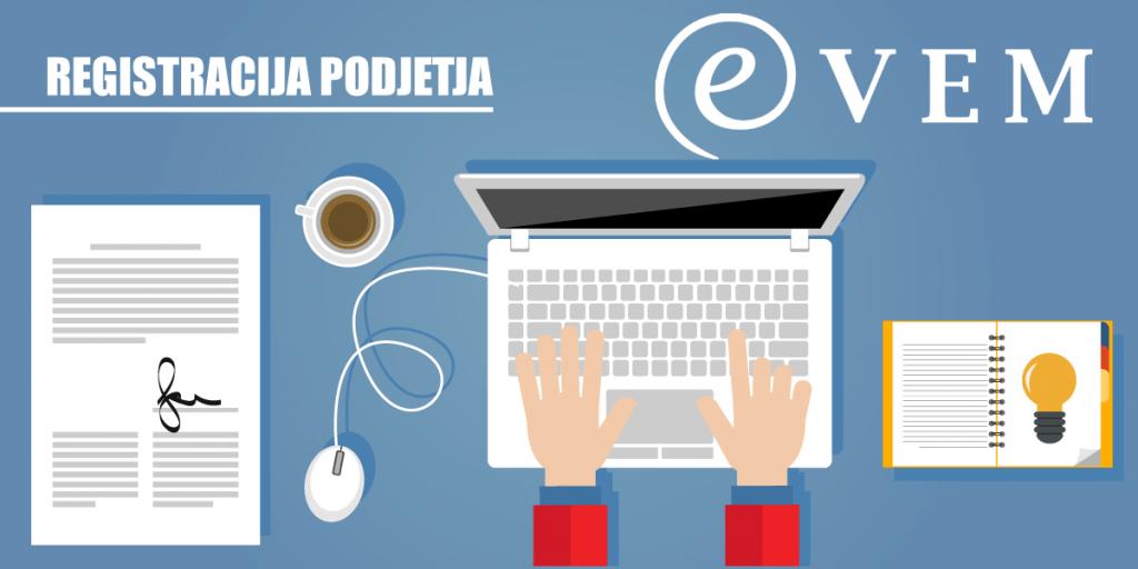 Registracija podjetja - VEM točka