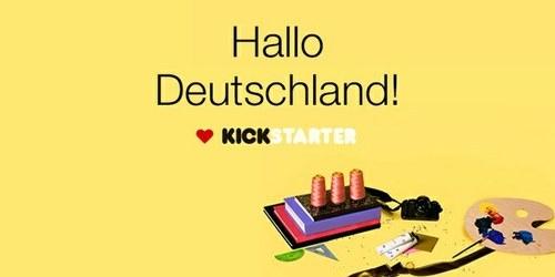 Kickstarter odslej tudi v Nemčiji!
