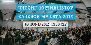 """Pitchi"" 10 polfinalistov za izbor MP leta 2015"