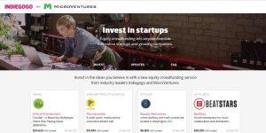 IndieGoGo: zdaj lahko investirate tudi v startupe