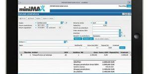SAOP miniMAX za mobilno poslovanje na tabličnih računalnikih Apple iPad