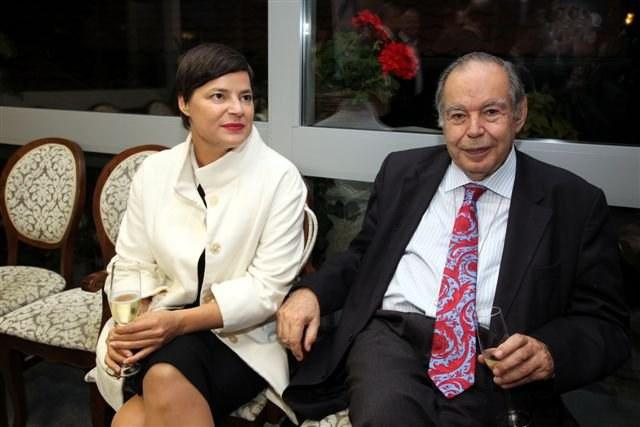 Dr. Edward de Bono na obisku v Sloveniji