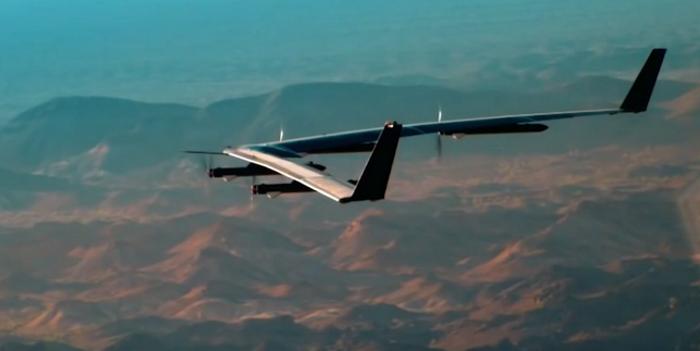 Dron, ki bo Afriki in Aziji prinesel internet, prestal prve teste