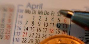 Koledar poslovnih obveznosti za april 2017