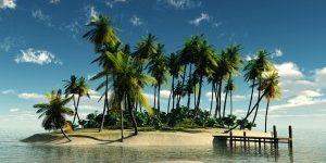 6 podjetij, ki jih lahko vodite iz udobja ležalnika na tropskem otoku