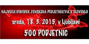 Največji dogodek ženskega podjetništva v Sloveniji