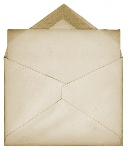 Pozor, DURS ni pošiljatelj modre kuverte