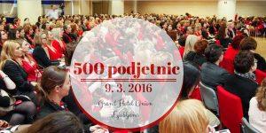 500 podjetnic
