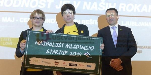 Mladinski startup leta 2014 je WIVU