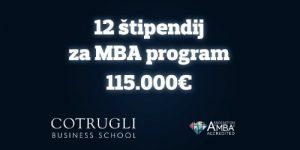 6 MBA in 6 Executive MBA štipendij v vrednosti 115.000 EUR