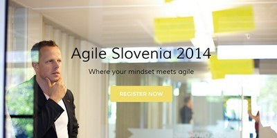 Agile Slovenia 2014: v Ljubljano prihajajo vrhunski mednarodni predavatelji
