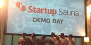 Zaključni pitchi ekip v finskem pospeševalniku Startup Sauna