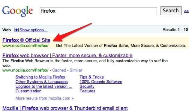 Tudi Google je spregledal sleparski oglas