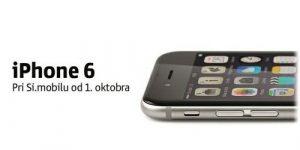 Novi iPhone 6 s 1. oktobrom prihaja v Slovenijo