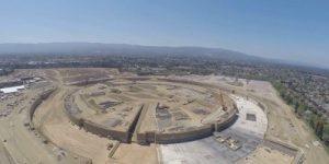 Video: Dron razkril veličastno podobo nastajajočega Applovega kampusa