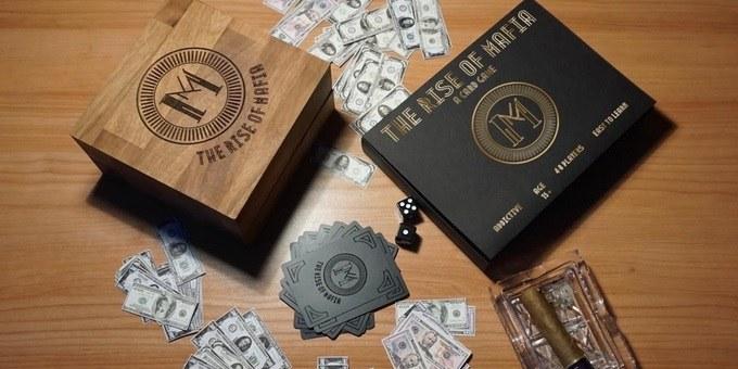 Slovenska namizna igra, ki vas bo popeljala v čase mafije, na Kickstarterju