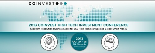 Startupi - vabljeni k prijavi na COINVEST 2013!