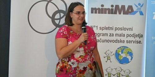 Mlada podjetnica leta 2014 je Jana Fleišer (vrtec Dobra teta)!
