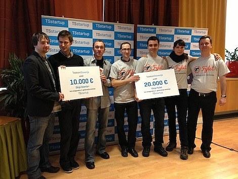 Aventa+ in Fylet prva zmagovalca TSstartupa!