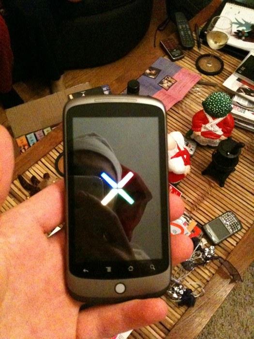 Slika Googlovega telefona Nexus One končno na spletu