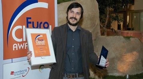 Esponce prejel nagrado za najboljši startup EuroCloud 2013!