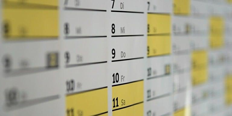 Koledar poslovnih obveznosti za maj 2017