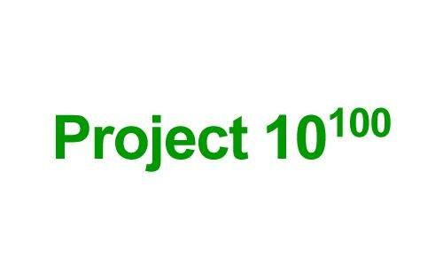 Googlov projekt 10 na 100-to potenco
