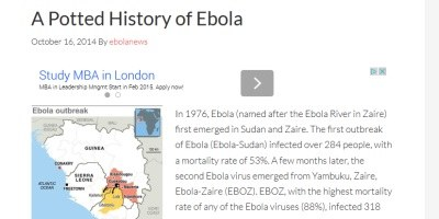 Ebola.com prodana za 200 tisoč dolarjev