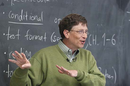 Gatesa skrbi ameriški izobraževalni sistem